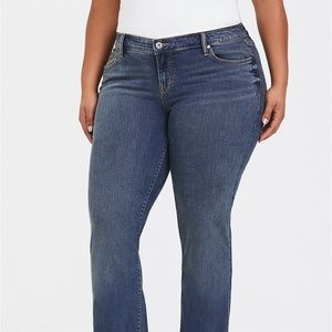 Torrid Relaxed Jean Vintage Stretch Bootcut